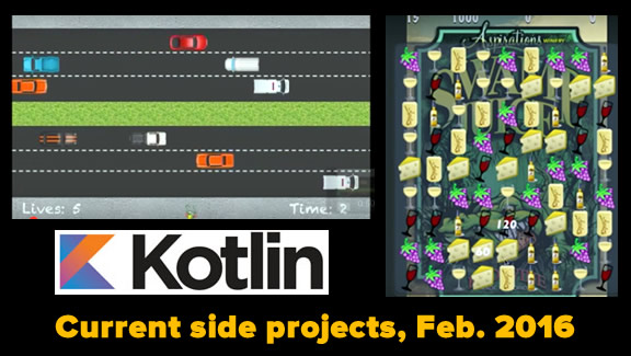 current side projects february 2016