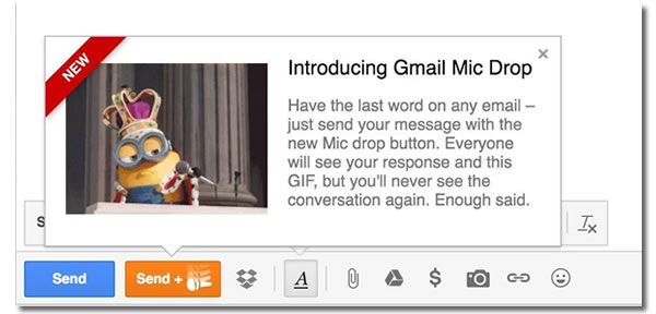 introducing gmail mic drop