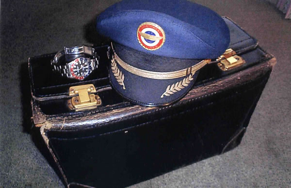 pilot's flight bag