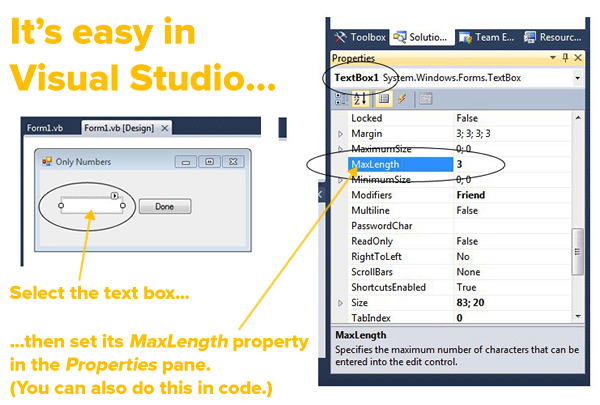 easy in visual studio