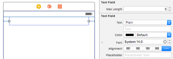 max length text field