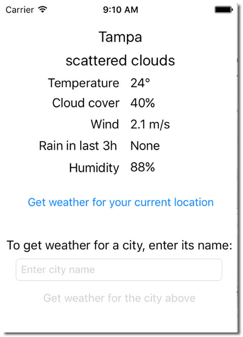 simpleweather 5 screenshot