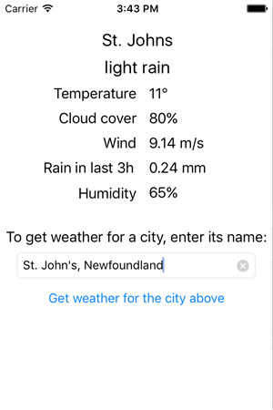 st. johns forecast