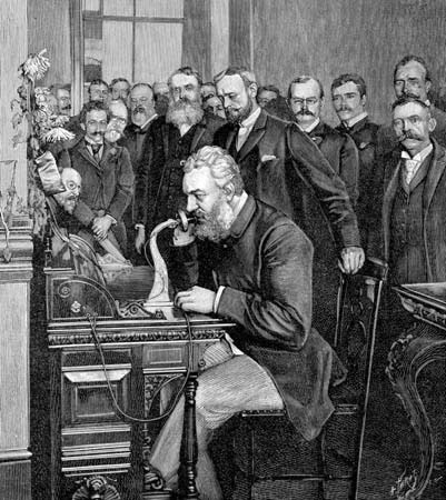 alexander graham bell and phone
