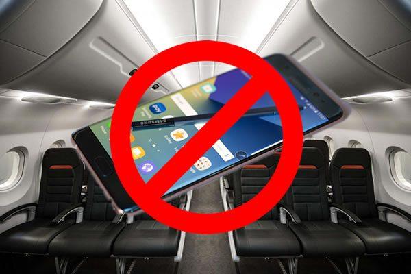 Social media reports of Samsung Galaxy Note 7 warnings on