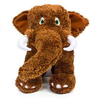 Plush mastodon.