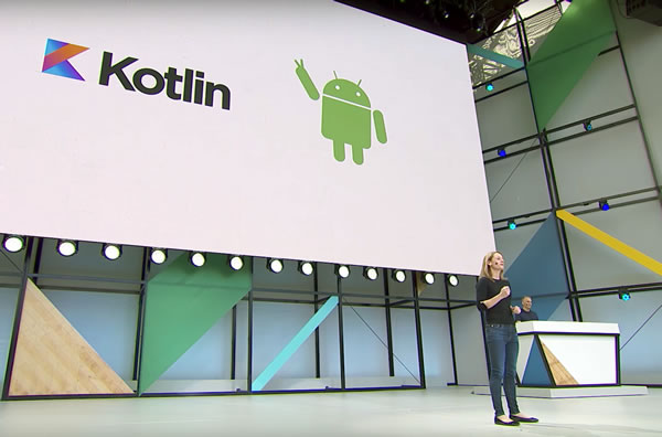 Kotlin announcement on I/O'17