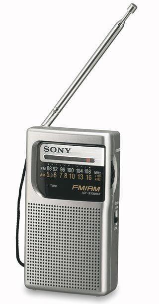 When my Android phone (and its FM radio) proved clearly more