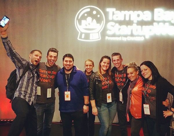Photo: Organizers of Tampa Bay Startup Week 2015.