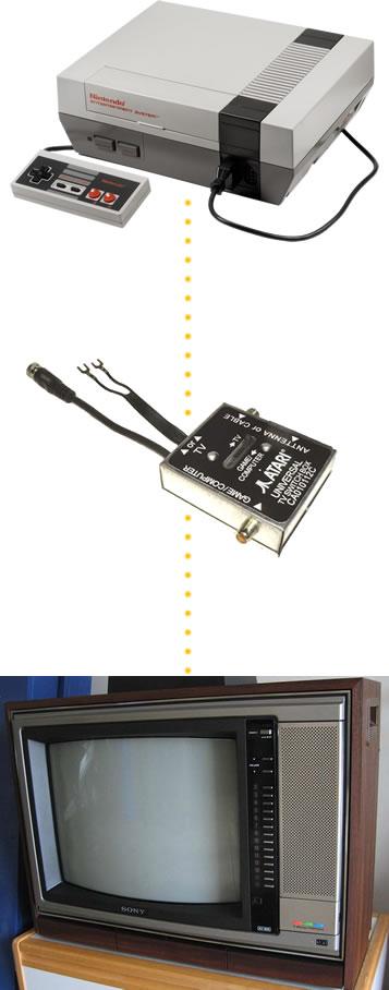 how do i hook up an rf modulator