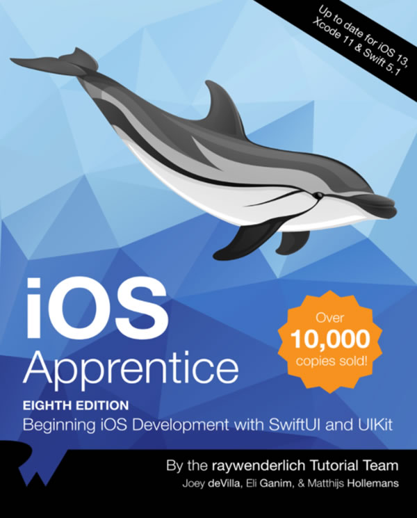 "Cover of ""iOS Apprentice, 8th edition"""