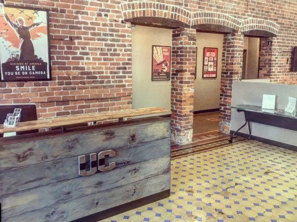 Photo: The Undercroft lobby.