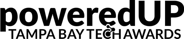 Logo: PoweredUP - Tampa Bay Tech Awards