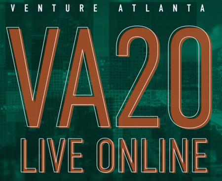 Logo: Venture Atlanta conference - VA20: Live online