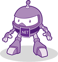 Graphic: dotNET robot