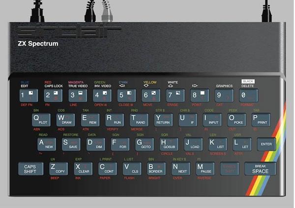 Photo: ZX Spectrum computer