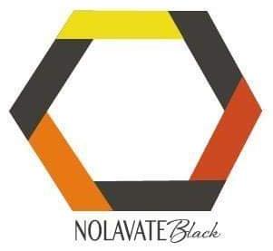 NOLAvate Black logo